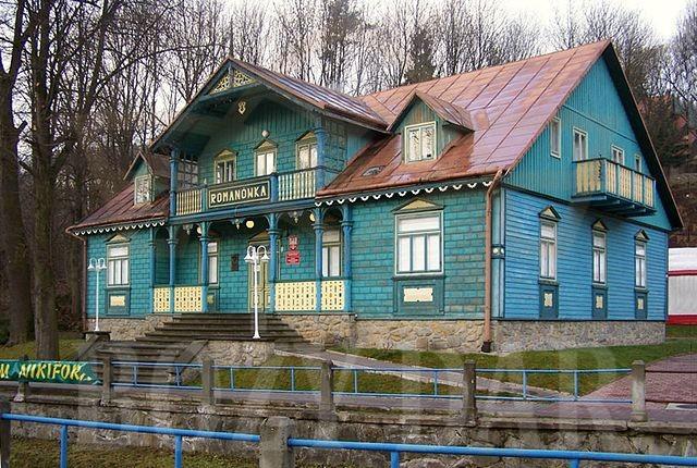 Willa Romanówka - Muzeum Nikifora
