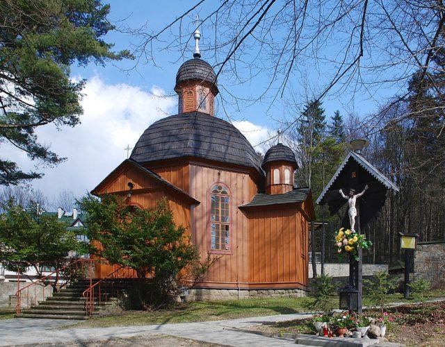 Krynica Zdrój, kościół Przemienienia Pańskiego